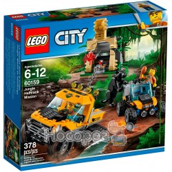 """Конструктор LEGO """"Джунглі: напівгусенична місія"""""""