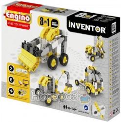 Конструктор серії INVENTOR 8 в 1 - Будівельна техніка