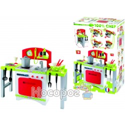 Кухня Chef-Cook с раздвижных стильницями, посудой и аксессуарами., 18мес. +
