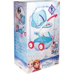 Коляска Smoby Toys Frozen с люлькой и корзиной 254145