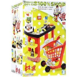 Супермаркет Pro-Shop Ecoiffier с тележкой