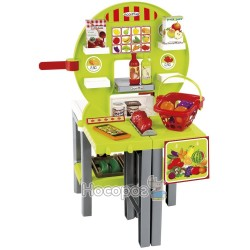 Продуктовый супермаркет Chef Ecoiffier с корзинами и продуктами