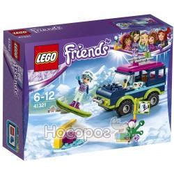 """Конструктор LEGO """"Гірськолижний курорт: позашляховик"""" 41321"""
