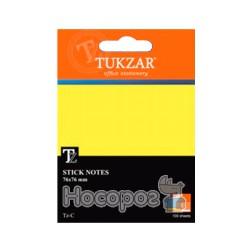 Блок бумаги для заметок с клейким слоем TZ-C