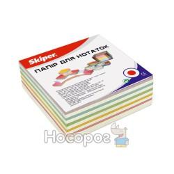 Блок бумаги для заметок клееный SKIPER Микс SK-2312
