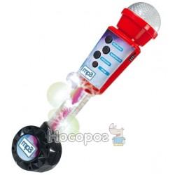 """Музичний інструмент """"Мікрофон"""" з роз'ємом для МР3 плеєра, 30 см, 6+"""