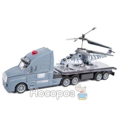 Вертолет на радиоуправлении В 1004967 R (на грузовике)