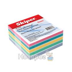 Блок бумаги для заметок цветной «Люкс»