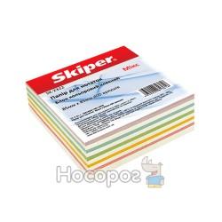 Блок бумаги для заметок цветной «Микс»