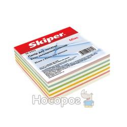 Блок бумаги для заметок цветной неклееный «Микс»