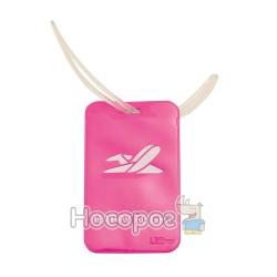 Бейдж багажный L6125 розовый 940198