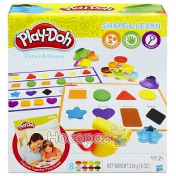 "Play-Doh Набор ""цвета и фигуры»"