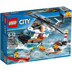 """Конструктор LEGO City """"Сверхмощный спасательный вертолет"""" 60166"""