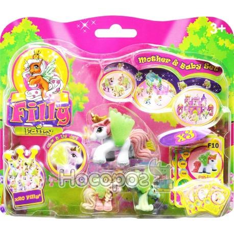 """Фото Пони Filly Simba """"Фея"""" с детьми, с карточкой и буклетом"""