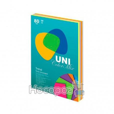 Бумага цветная UNI Color Trend Mix