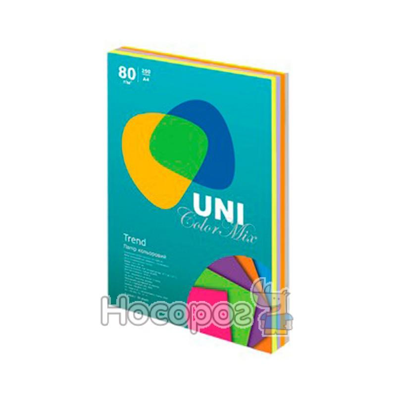 Фото Бумага цветная UNI Color Trend Mix