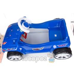 Машинка для катания ПЕДАЛЬНАЯ синяя