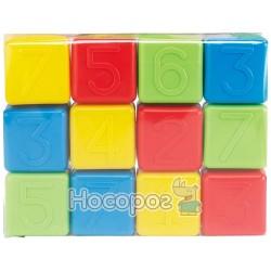 Развивающие кубики с цифрами Ecoiffier
