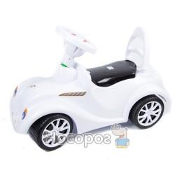 Машинка для катания РЕТРО-РУ белая