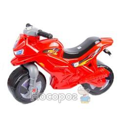Мотоцикл двоколісний червоний (501)
