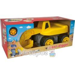 """Экскаватор BIG """"Maxi-Digger"""" для катания малыша A016"""