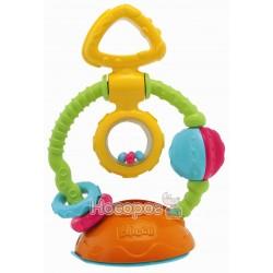 """Игрушка-погремушка на присоске """"Touch & Spin"""""""