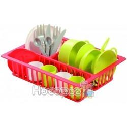 Набір посуду з сушилкою, 19 аксес., 18міс.+