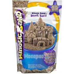 Песок для детского творчества Spin Master KINETIC SAND BEACH натуральный цвет