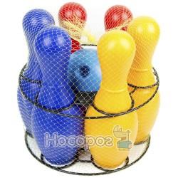 725 Детская игра кегли: шесть кеглей, шар