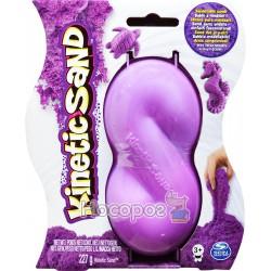 Песок для детского творчества Spin Master KINETIC SAND NEON фиолетовый