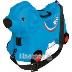 """Каталка для малюка """"Подорож"""" з відділенням для речей, блакитна, 3+"""