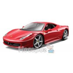 Автомодель - 458 ITALIA (асорті жовтий, червоний, 1:24)