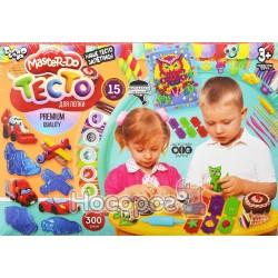 """Набор креативного творчества Danko Toys """"Тесто для лепки"""" Master Do 15 цветов 20 г"""