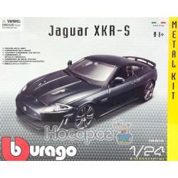 Авто-конструктор - JAGUAR XKR-S (темно-зелений, 1:24)