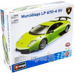 Авто-конструктор - LAMBORGHINI MURCIELAGO LP670-4 SV (зелений, 1:24)