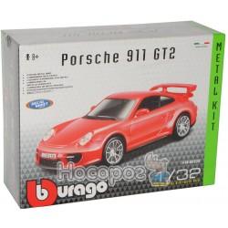 Авто-конструктор - PORSCHE 911 GT2 (блакитний, червоний, 1:32)