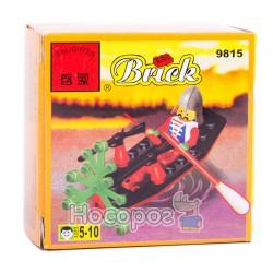 Конструктор BRICK 9815 лодка с веслами