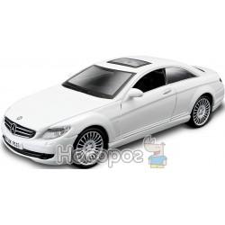 Автомодель - MERCEDES-BENZ CL-550 (бiлий, чорний, 1:32)
