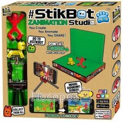 Ігровий набір для анімаційної творчості STIKBOT S2 PETS - СТУДІЯ Z - SCREEN (2 фіг., штатив, сцена)