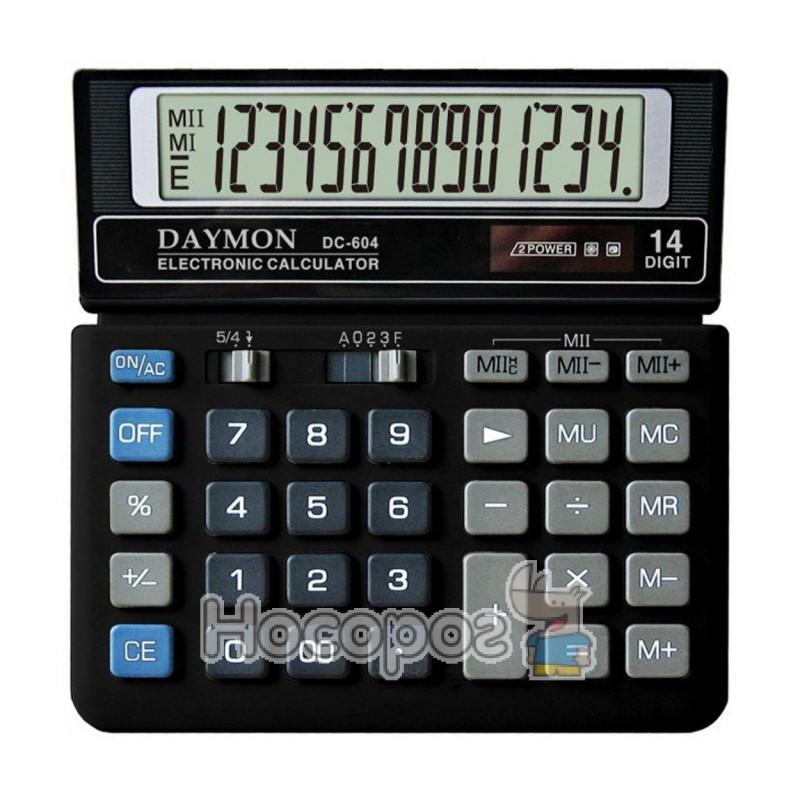 Фото Калькулятор DAYMON DC-604