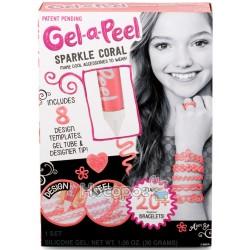 Набор для творчества Gel-a-Peel - Блискучий коралловый