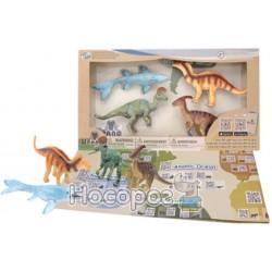 Учебный игровой набор Wenno с QR-картой - ДИНОЗАВРЫ МЕЛОВОГО ПЕРИОДА