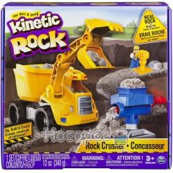 Набор для детского творчества Spin Master KINETIC ROCK CRUSHER серый гравий
