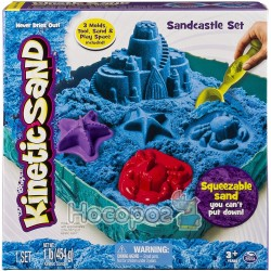 Набір піску для дитячої творчості Spin Master KINETIC SAND Замок з піску блакитний