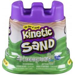 Песок для детского творчества - KINETIC SAND МИНИ КРЕПОСТЬ (зеленый)