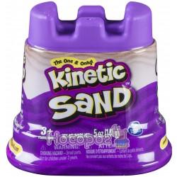 Песок для детского творчества Spin Master KINETIC SAND Мини Крепость фиолетовый
