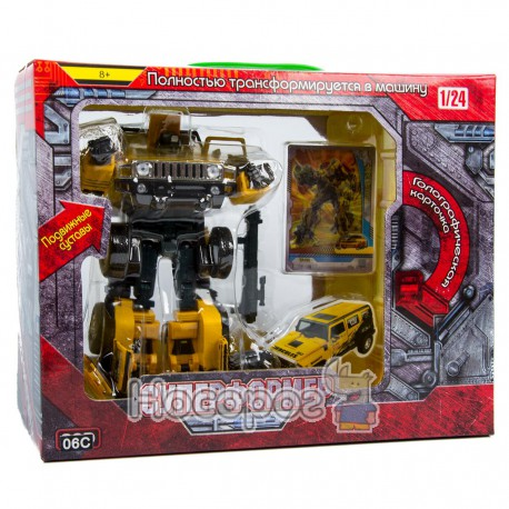 Фото Робот-трансформер В 912504 R Суперформер (металевий, складається в машину)