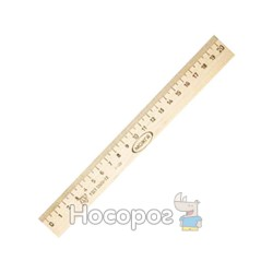 Лінійка дерев'яна 20 см