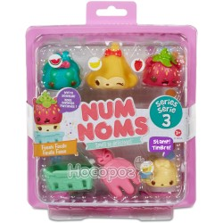 Набор ароматных игрушек NUM NOMS S3 - Овощи и фрукты