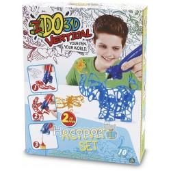 Набор для детского творчества IDO3D с 3D-маркером - ЗООПАРК